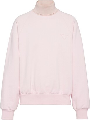 Prada Oversized Roll Neck Sweatshirt