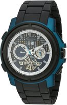 Kenneth Cole New York Men's KC9180 Auto Round Blue Titanium Automatic Watch
