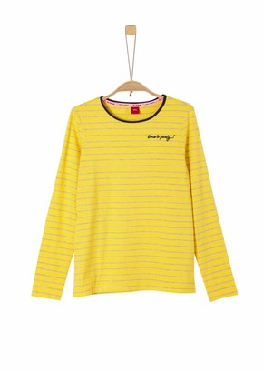 S'Oliver Girl's 66.911.31.7462 Long Sleeve Top
