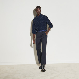 Sandro Straight-leg pants with braid trims