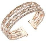 Anne Klein Crystal Cuff Bracelet