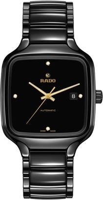 Rado True Square Diamonds Bracelet Watch