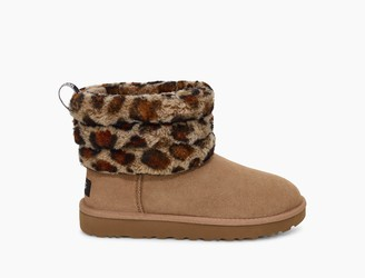 UGG Fluff Mini Quilted Leopard