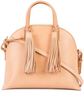 Loeffler Randall tassel detail tote - women - Calf Leather - One Size
