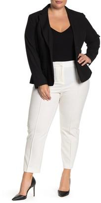 Amanda & Chelsea Seam Front Ponte Trousers (Plus Size)