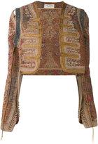 Saint Laurent Marrakech embroidered jacket - women - Cotton/Polyester/Viscose - 38