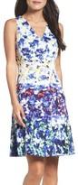 Maggy London Petite Women's Fit & Flare Dress