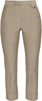 Maison Margiela High-rise cropped wool trousers