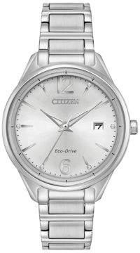 Citizen Chandler Stainless Steel 3 Hand Basic Bracelet Watch