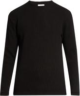 Fanmail Waffle-knit cotton sweater