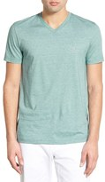 Lacoste Stripe V-Neck T-Shirt (Nordstrom Exclusive)