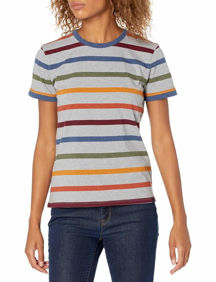 Thumbnail for your product : Pendleton Women's Deschutes Short Stripe Ringer Tee