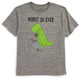 JEM Boy's Worst Dj Ever T-Shirt