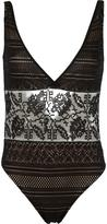 Cecilia Prado crochet swimsuit - women - Acrylic/Polyester/Viscose - P