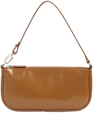 BY FAR RACHEL SEMI PATENT LEATHER BAG