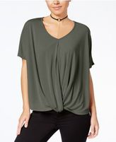 Miss Chievous Juniors' Deep-V Twisted Top