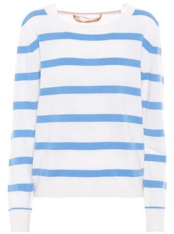 81 Hours 81hours Colorado striped cashmere sweater