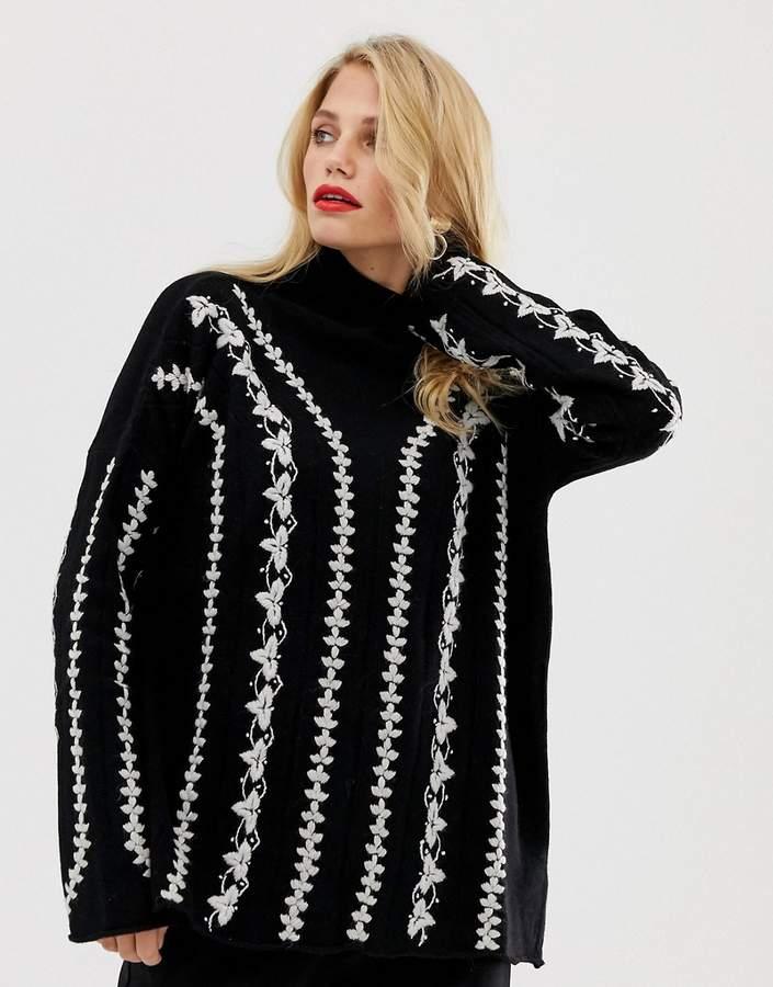 f7de784999c055 Knitted Stitch Jumper - ShopStyle UK
