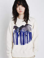 Embroderie Sweat Ivory