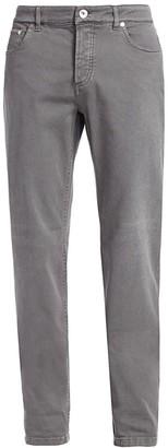 Brunello Cucinelli Colored Straight-Leg Jeans