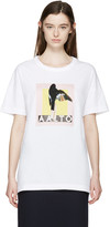 Aalto White Oversized Logo T-Shirt