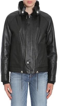 Saint Laurent Hooded Bomber Jacket