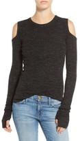Current/Elliott Women's 'The Melange' Cold Shoulder Sweater