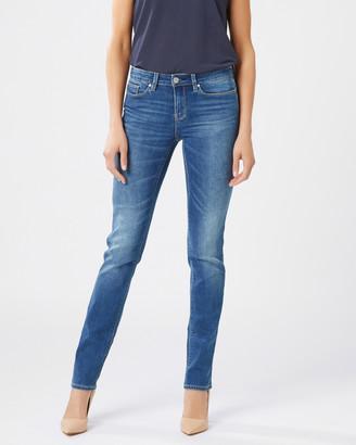 Jeanswest Slim Straight Jeans Lake Blue