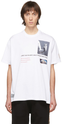 Burberry White Montage T-Shirt