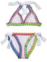 Pilyq Girls' Crochet 2-Piece Swimsuit - Little Kid, Big Kid