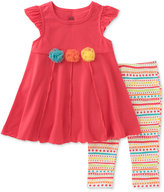 Kids Headquarters 2-Pc. Tunic & Capri Leggings Set, Toddler & Little Girls (2T-6X)
