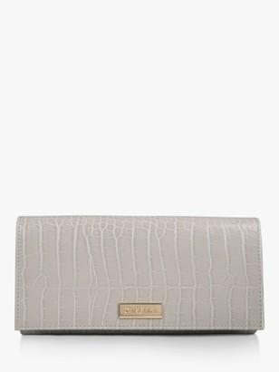 Carvela Kareless Croc Print Clutch Bag