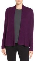 Eileen Fisher Women's Tencel Lyocell & Wool Blend Boxy Cardigan