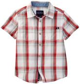 Lucky Brand Overflow Woven Check Shirt (Little Boys)