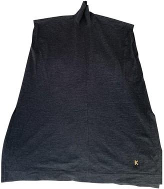 Kenzo Anthracite Wool Knitwear for Women