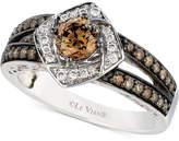 LeVian Le Vian Chocolatier Diamond Ring (7/8 ct. t.w.) in 14k White Gold