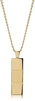Northskull Layers Gold-tone Necklace