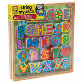Alex Little Hands String My Abcs Discovery Toy
