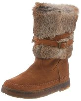 BearPaw Womens Kara: 10 In. Fur Boot (HickoryII, 8)