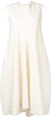 Jil Sander Sleeveless Midi Dress