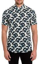 7 Diamonds Lost in Paradise Print Woven Shirt