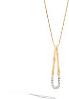 John Hardy Pendant Necklace with Diamonds