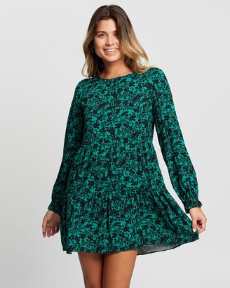 Dorothy Perkins Floral Print Shadow Dress