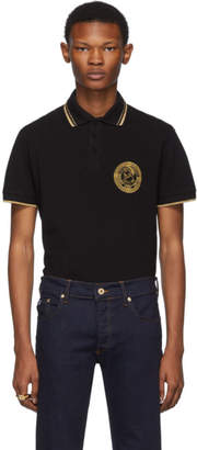 Versace Black Medallion Polo
