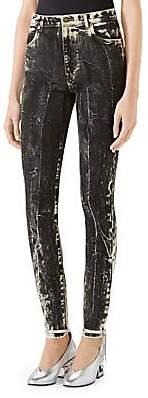 Gucci Women's Acid Wash Skinny Jeans