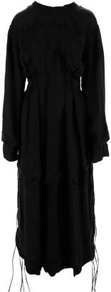 Jil Sander Black Women's Long Dress