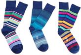 Paul Smith Men's 3 Pack Socks Multi