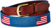 Smathers and Branson OKL American Flag Belt, Blueberry