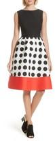 Kate Spade Women's Colorblock Fit & Flare Dress