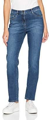 Brax Women's BX_Mary BRILLIA Slim Jeans, (Used Regular Blue 25)